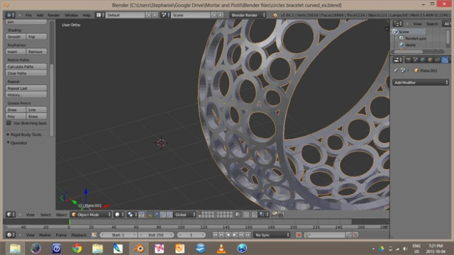 Blender Screen Shot 1