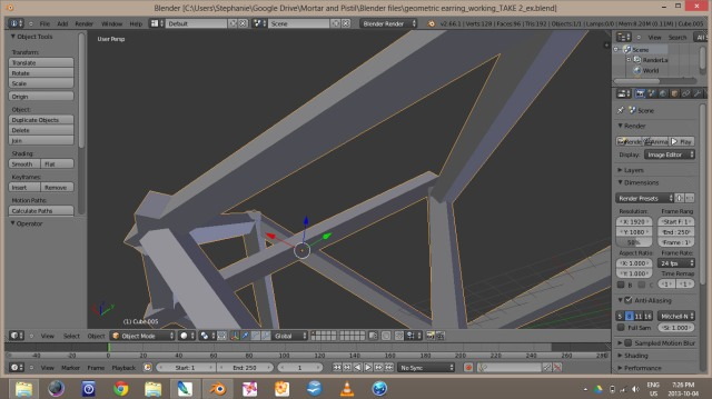 Blender Screen Shot 2